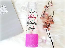 fairy grandmother fairy godmother water bottle custom godmother gift