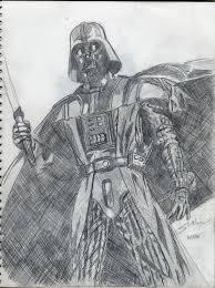 darth vader sketch by spanishyoda on deviantart