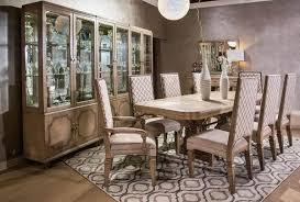 11 dining room set aico furniture tangier coast 11 rectangular dining room