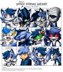 Meme Wolf - sonic forms meme lance the wolf by lancerwolf13 on deviantart
