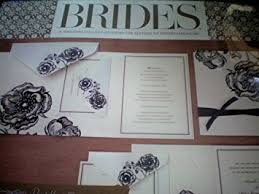 brides wedding invitation kits brides magazine wedding invitation kit kitchen dining