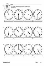 free worksheets time worksheets half past and quarter past