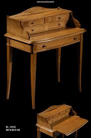 bureau bonheur du jour bureau bonheur du jour 5 tiroirs en merisier réf r1015