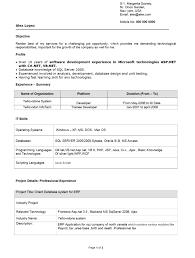 Sample Resume For Experienced Net Developer Sample Resume For Experienced Software Engineer Free Download