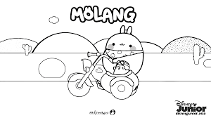 molang colouring sheet 2 disney junior philippines