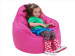 bean bag chair kids in the living