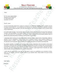 sample teacher resume no experience preschool teacher cover letter