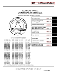 064245 usarmy icom radio maintenance troubleshooting am