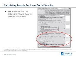 retirement income strategies how social security can maximize a