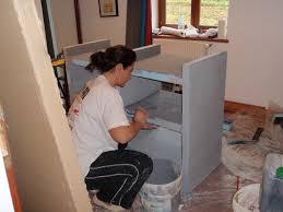 fabriquer meuble salle de bain beton cellulaire best meuble lavabo wedi photos amazing house design ucocr us
