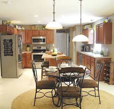 Kitchen Table Lighting Fixtures by New Lights In The Kitchen Living Rich On Lessliving Rich On Less