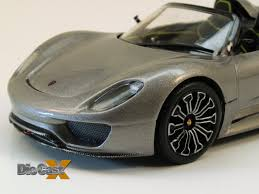 minichamps 1 43 porsche 918 spyder electric slide die cast x