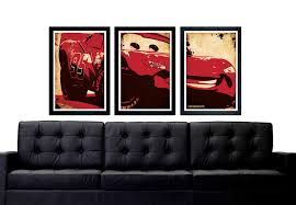 cars lightning mcqueen poster set lightning mcqueen car set zoom