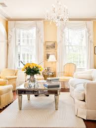 yellow walls with curtains houzz