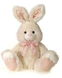 plush stuffed cuddly easter bunny rabbit stuffed