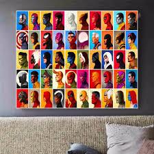 online get cheap superhero painting aliexpress com alibaba group
