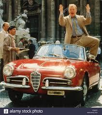 vintage alfa romeo giulia car alfa romeo giulietta spider convertible model year 1955