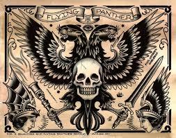 collection of 25 skulls n spider web design