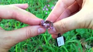 rose gold amethyst diamond ring levian amethyst chocolate diamonds pink topaz and sapphire ring