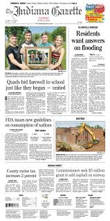 the indiana gazette thursday june 2 2016 by indiana printing