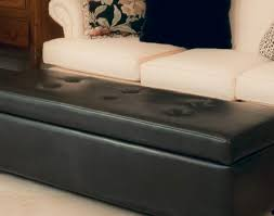 Ottoman Leather Storage Bench Appealing Mainstays Faux Leather Storage Bench White