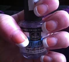 beauty ideas using a french manicure white polish snapguide