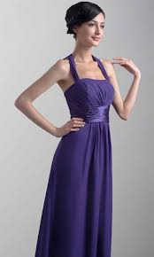elegant purple halter long bridesmaid dresses ksp382 ksp382