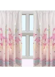 horse and ballerina curtains from our kids curtains range at