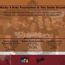 adopt a family for thanksgiving blog kicks 4 kids foundation