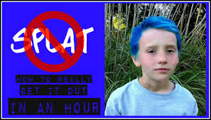 how to get splat hair dye out of hair how to really remove splat hair color in about an hour youtube