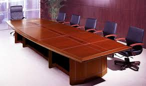 Mahogany Conference Table Magnificent Office Conference Table Boat Shaped Solid Hardwood