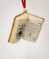 a carol book ornament by vaillancourt folk