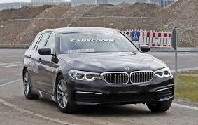 barely camouflaged 2017 bmw 5 series touring gets fresh batch of