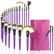 24 pieces professional makeup brush set foundation blending xmy