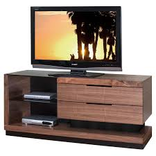 stratus tv stand by martin home furnishings walnut finish