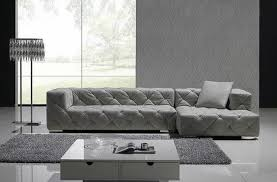 modern tufted leather sofa amazing modern tufted leather sofa with sectional sofas image 6 of