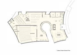 Health Center Floor Plan by Steven Holl Conceives Cofco Cultural Complex For Shanghai