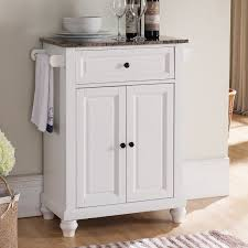 marble top kitchen islands alcott hill leonard kitchen island with faux marble top reviews