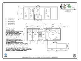 Ada Floor Plans by Ada Bathroom Floor Plans Singleuser Restroom Has Been Intended
