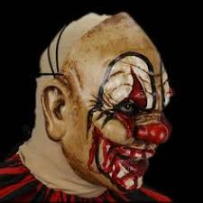 coloring pages of scary clowns cut up the clown mask scary clown mask clown mask and scary clowns