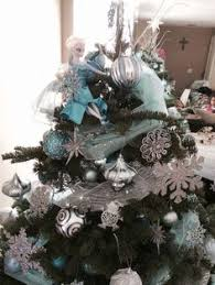 disney u0027s frozen inspired christmas tree with elsa tree topper the