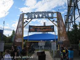 Six Flags Ad Nitro At Six Flags Great Adventure Theme Park Archive