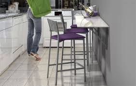 table de cuisine sur mesure table cuisine escamotable meuble de cuisine avec table escamotable