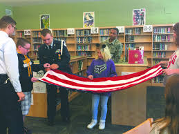 How To Fold Us Flag North Middle U0027s Flag Patrol In Full Swing News Sports