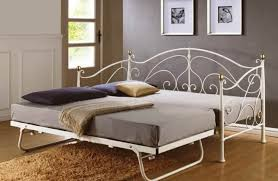 daybed id f stunning metal daybed victorian cast iron roll away