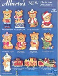 ceramic molds alberta ornaments 12 bears skyline molds