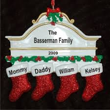 4 our family ornaments