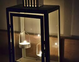 White Lantern Centerpieces by Wedding Lantern Centerpiece 10in Vintage Antique Ivory U0026