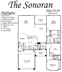 floor plans for the sonoran models inside arizona traditions an
