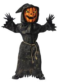 scary costumes bobble eye pumpkin child costume scary costumes boys